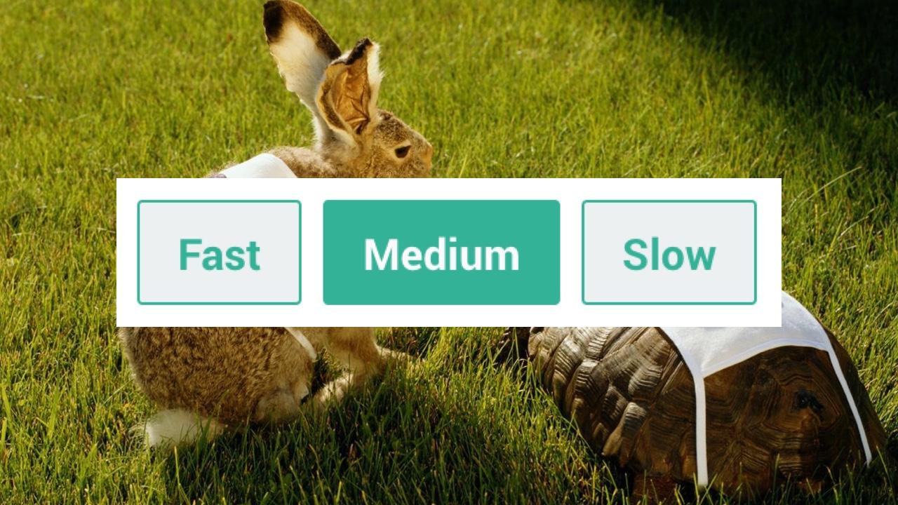 rabbit turtle practice learning speed